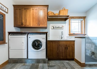 Custom Laundry Room Ann Arbor