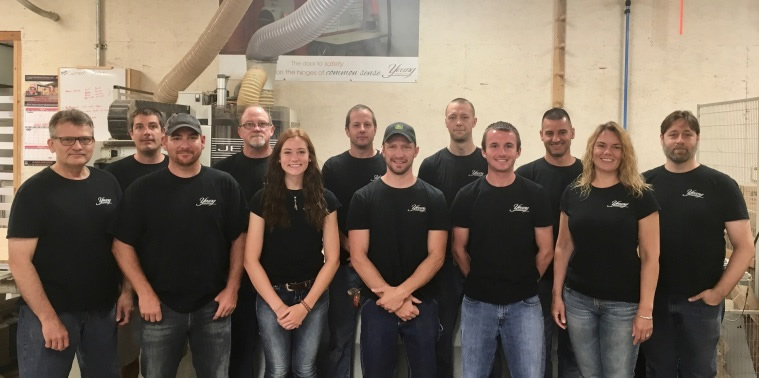 Young Cabinetry Employees Saline